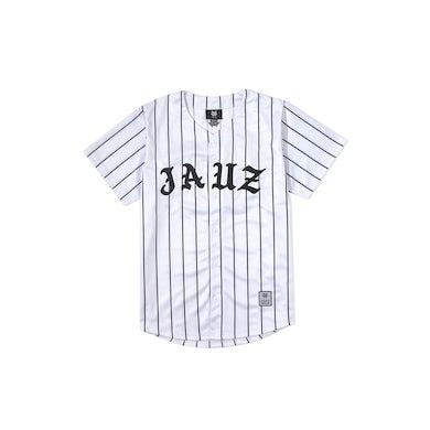 Jauz Pinstripe Baseball Jersey