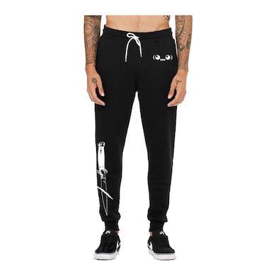 Ghastly Switchblade Joggers in Black