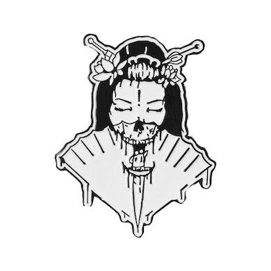 Ghastly Geisha Enamel Pin