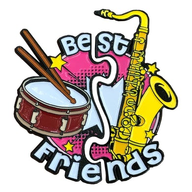 Big Gigantic Best Friends Pins