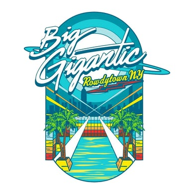 Big Gigantic Rowdytown Brooklyn Pin