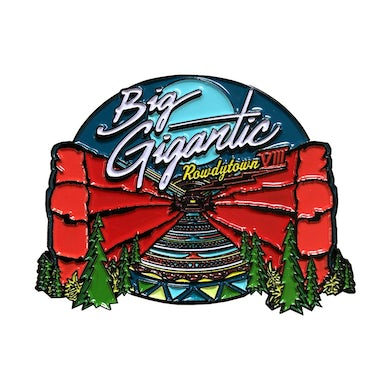 Big Gigantic Rowdytown VIII Red Rocks Pin