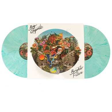 Big Gigantic Brighter Future Double LP - Printed On Teal Marble Vinyl