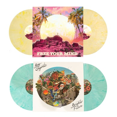 Big Gigantic VINYL BUNDLE! - Free Your Mind Double LP & Brighter Future Double LP