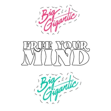 Big Gigantic Free Your Mind Sticker Pack