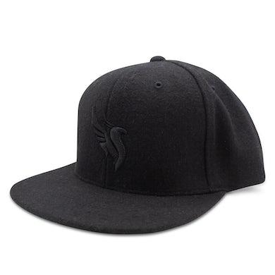Illenium Phoenix Wool Snapback / Black on Black