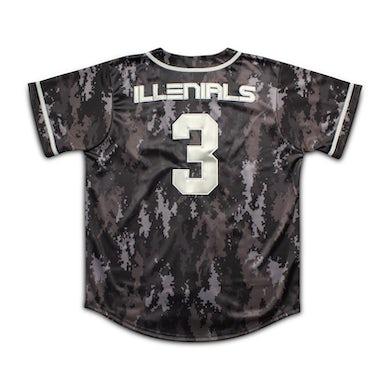 Illenium ILLENIALS 3M Camo Baseball Jersey