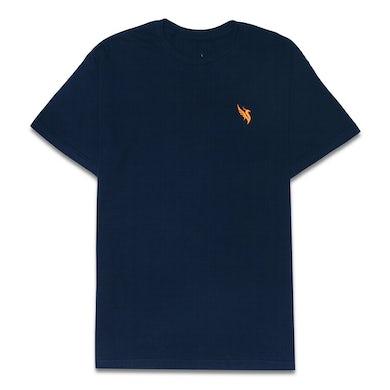 Illenium Phoenix Embroidered Tee / Navy