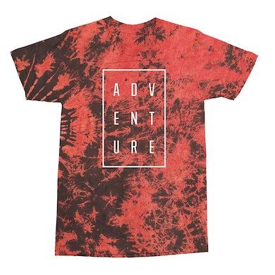 Adventure Club Red Tie Dye Tee