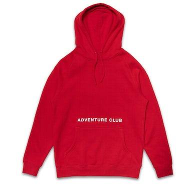 Adventure Club Red Character Hoodie