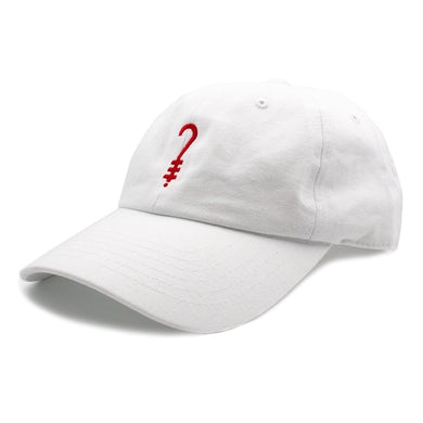 K?D Dad Hat - White/Red