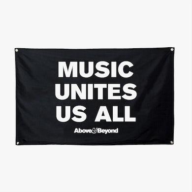 Above & Beyond Music Unites Us All Flag