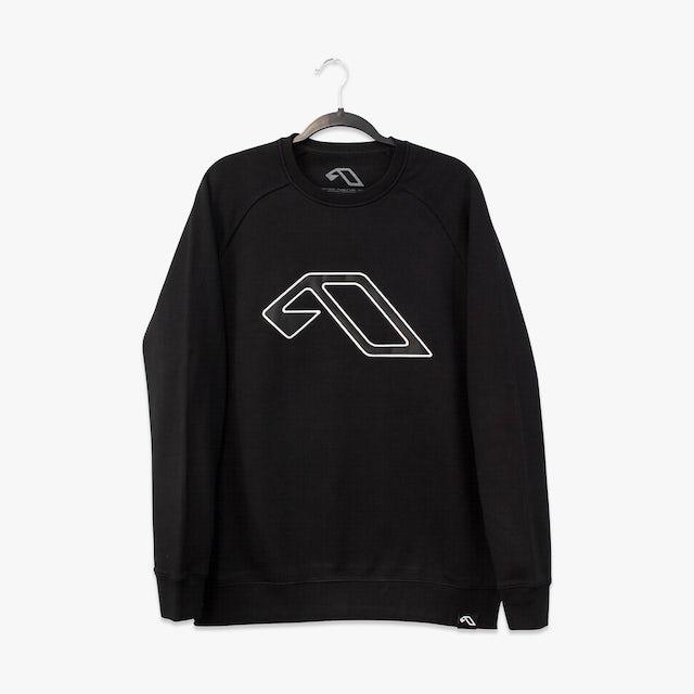 Anjunabeats Anjuna Applique Patch Crewneck Sweater / Black