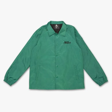 Above & Beyond Coaches Jacket / Green