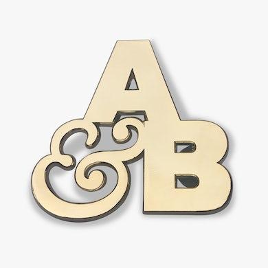 Above & Beyond Gold Enamel Pin