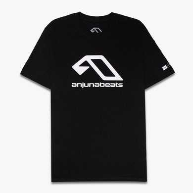 Anjunabeats Classic Logo Tee / Black