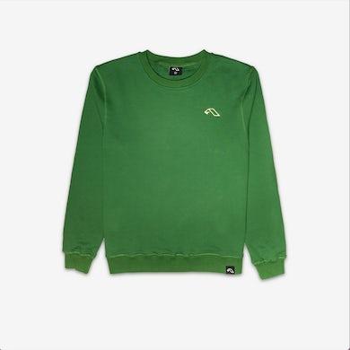 Anjunadeep Green Crewneck Sweater