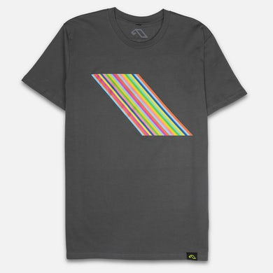 Anjunabeats 20 x Farrow Rainbow Tee - Charcoal