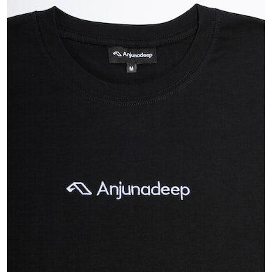 Anjunadeep Type Logo Tee - Black