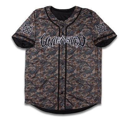 Kayzo Reversible Army Camo Baseball Jersey
