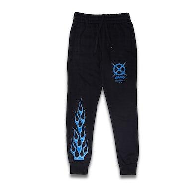 Kayzo Blue Flame Sweats