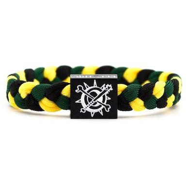 Kayzo Bracelet Black/Yellow/Green