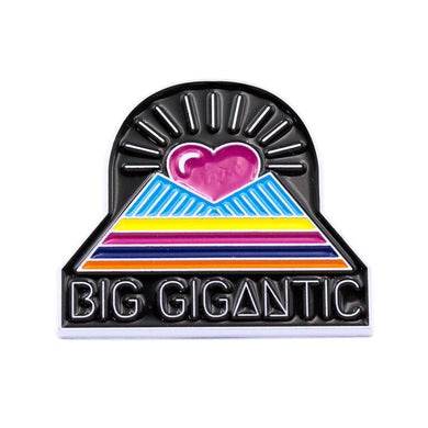 Big Gigantic Pyramid Pin