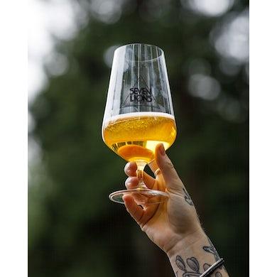 Seven Lions Beer Glass