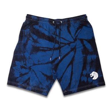 Seven Lions Blue Dye Shorts
