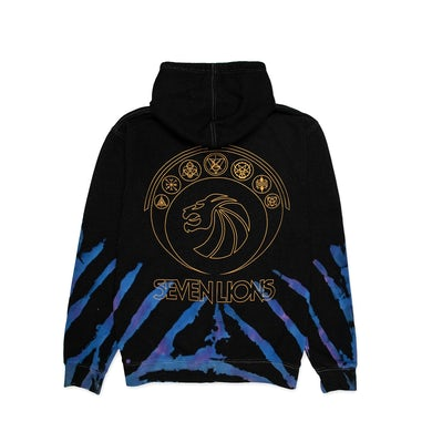 Seven Lions Galaxies Dye Hoodie
