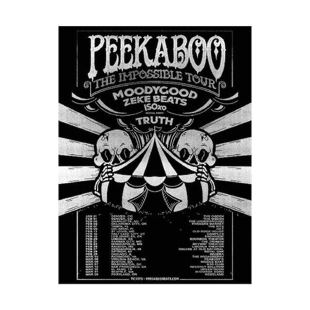 PEEKABOO Tour Poster