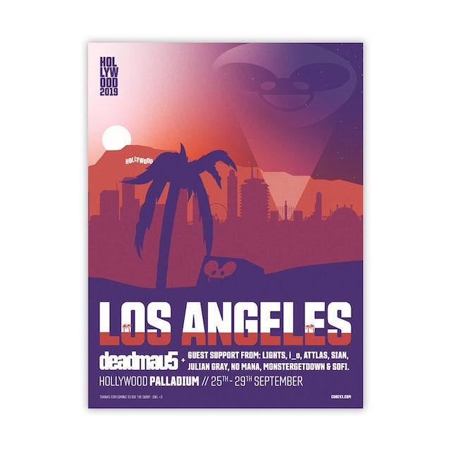Deadmau5 palladium poster