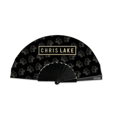Chris Lake LOGO HAND FAN