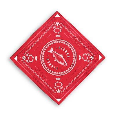 RED FISHER BANDANA
