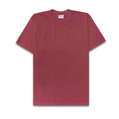 FISHER C.A.R.R. WASHED RED LOGO BOX TEE
