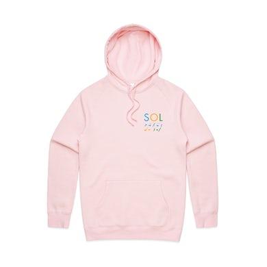 RÜFÜS DU SOL Pink Logo Hoodie