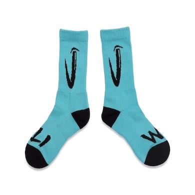 Teal Socks