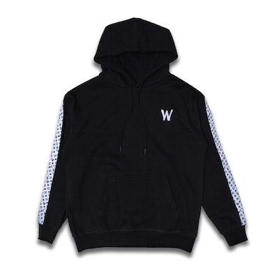 Black Wooli V Hoodie