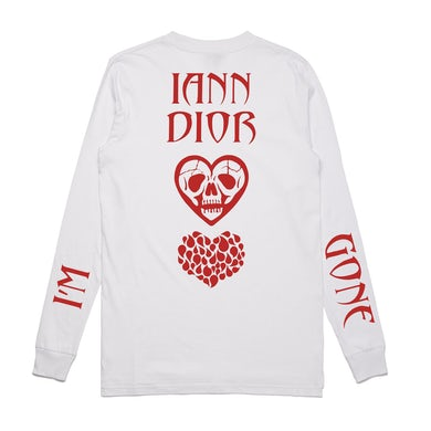 Iann Dior I'm Gone Long Sleeve / White
