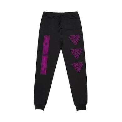Iann Dior Haze Sweatpants / Black