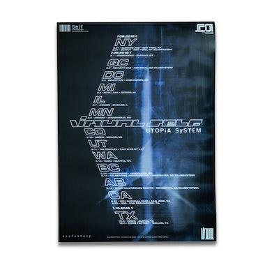 Porter Robinson VIRTUAL SELF Utopia System Poster