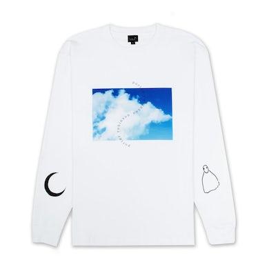sky / moon / ghost long sleeve