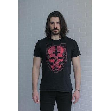 Black Tiger Sex Machine BTSM - Red Skull Tee