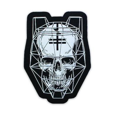 Black Tiger Sex Machine BTSM - Large Skull Patch