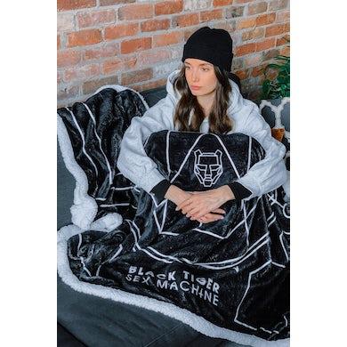 Black Tiger Sex Machine BTSM - Fleece Blanket