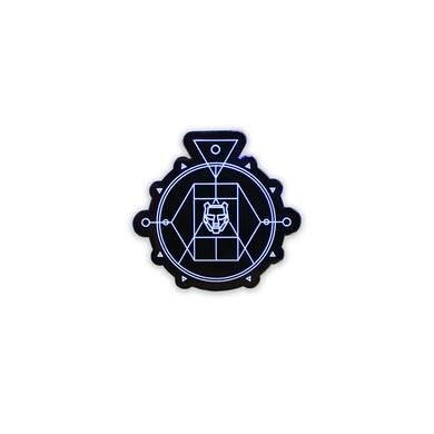 Black Tiger Sex Machine BTSM - Numbered Enamel Helmet Dystopia Pin (Limited Edition)