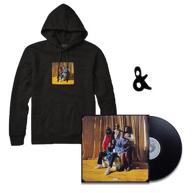 Buddy Black Hoodie + Vinyl Bundle