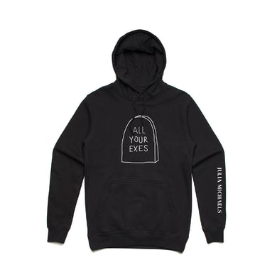 All Your Exes Hoodie / Black