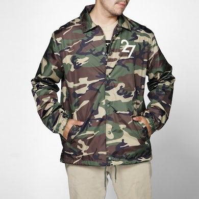 DEL RECORDS DR 2009 Camo Coaches Jacket