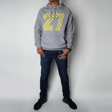 DEL RECORDS Checkered 27 Hoodie